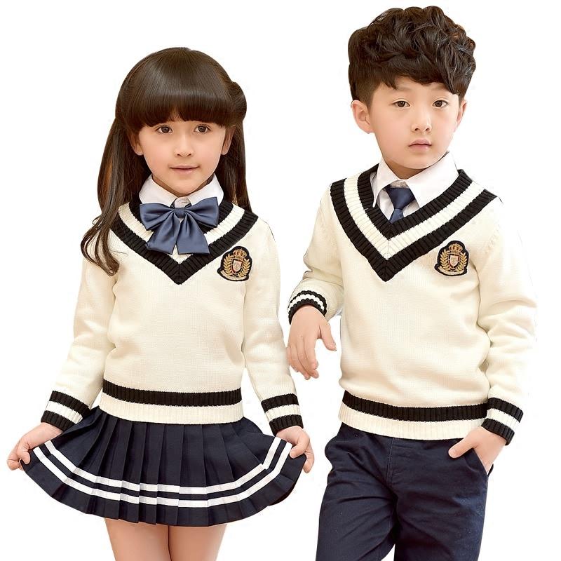 幼儿园园服2020新款秋冬装男女童装英伦学院风小学生校服班服套装