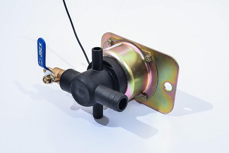 电磁式放水开关12V24V重汽货车淋水器电磁阀轮胎滴水刹车水阀配件
