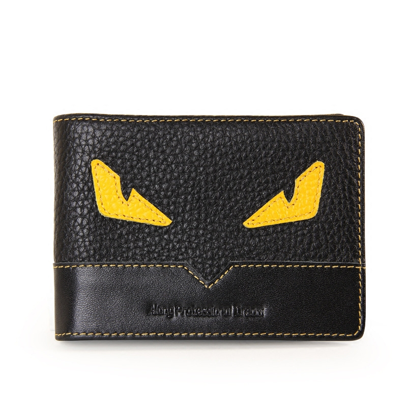 小怪兽潮牌驾驶证件本皮套女个性行驶证套超薄驾照皮夹卡包男潮