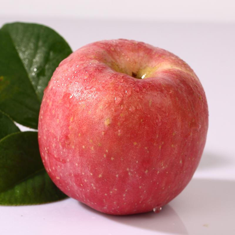 烟台苹果红富士栖霞苹果新鲜冰糖心脆甜苹果5斤装太阳果