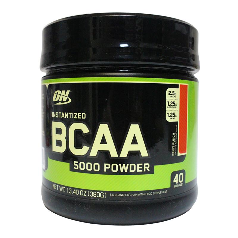 美国进口 ON欧普特蒙BCAA支链氨基酸粉健身增肌粉成人水果味380g