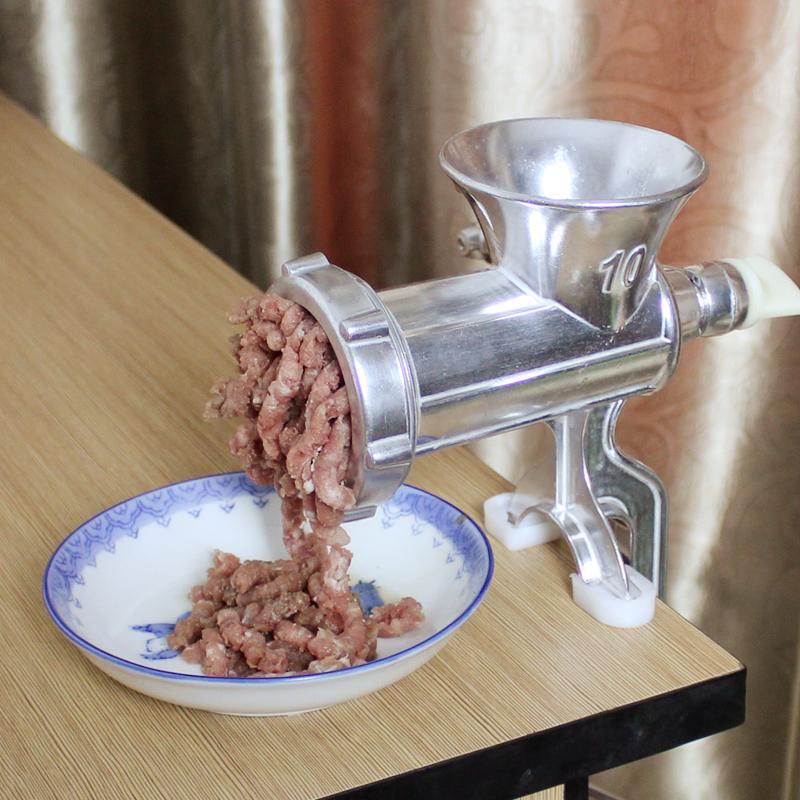 手动绞肉机家用灌肠机手摇小型绞菜搅碎肉绞大蒜机香肠磨辣椒粉器