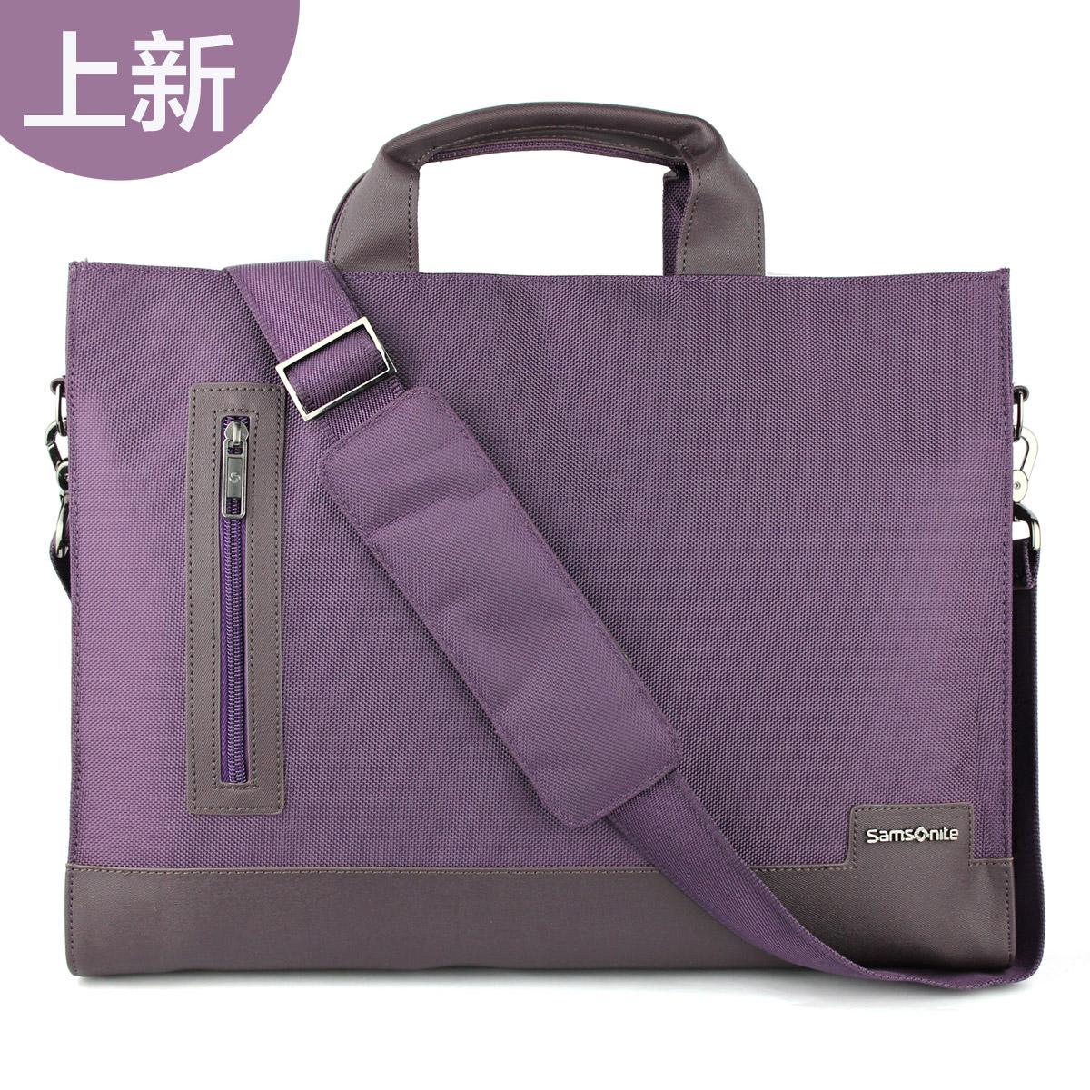 聯想新秀麗單肩包T7130S商務電腦包14寸外包帶13寸內膽原裝正品