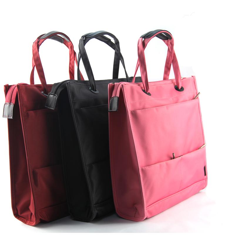 派格商务手提文件包文件袋男女公文会议包 休闲时尚单肩包电脑包