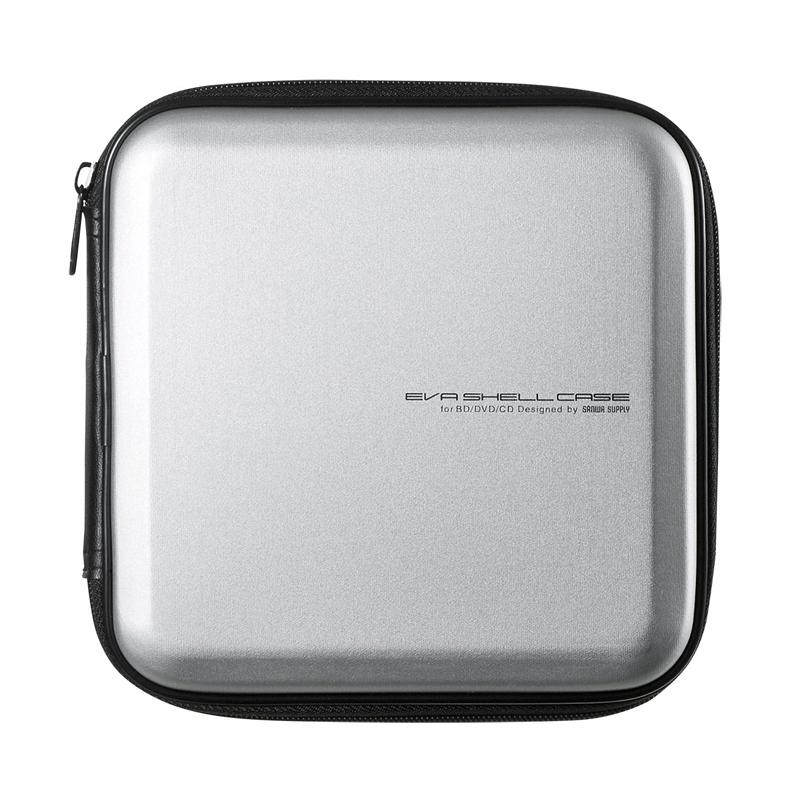 日本SANWA藍光光碟包車載cd盒子蝶包DVD收納包12/24/56/104片抗震