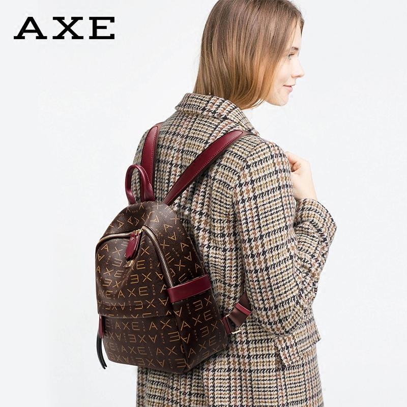 双肩包女2019新款韩版百搭英伦质感背包大容量软皮高级感包包洋气
