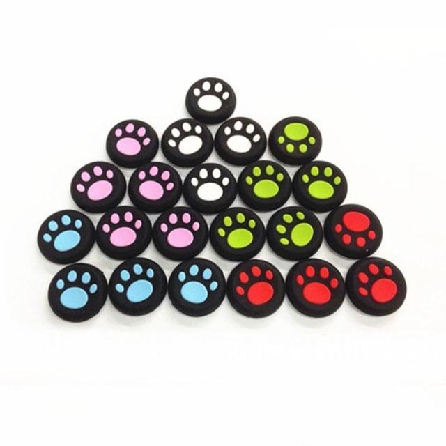 傲碩PS4手柄貓爪防滑搖桿帽 無線有線通用 6個 多色選擇
