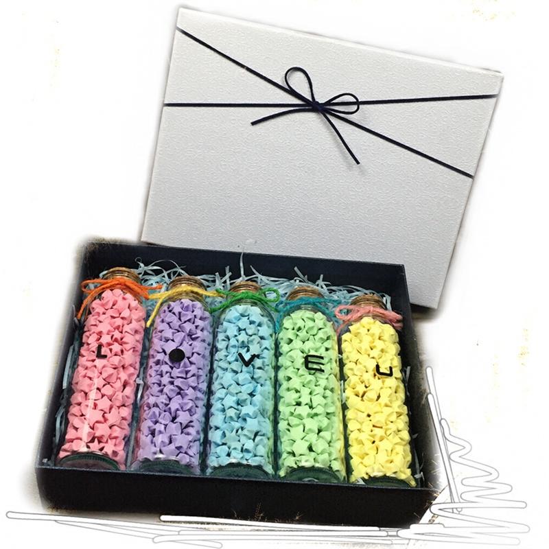 #handmade #origami #luckystar #earrings single neon... - Depop | 800x800