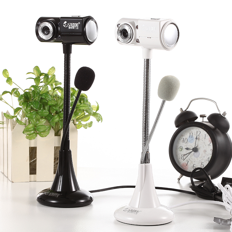 T18 摄像头电脑台式笔记本内置带麦克风话筒外置夜视主播淘宝直播电脑上用的家用usb美颜高清视频电脑摄像头