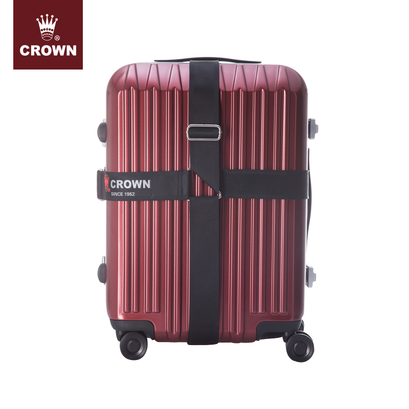 CROWN/皇冠行李箱配件 旅行箱配件 拉桿箱打包捆綁束箱帶-1167