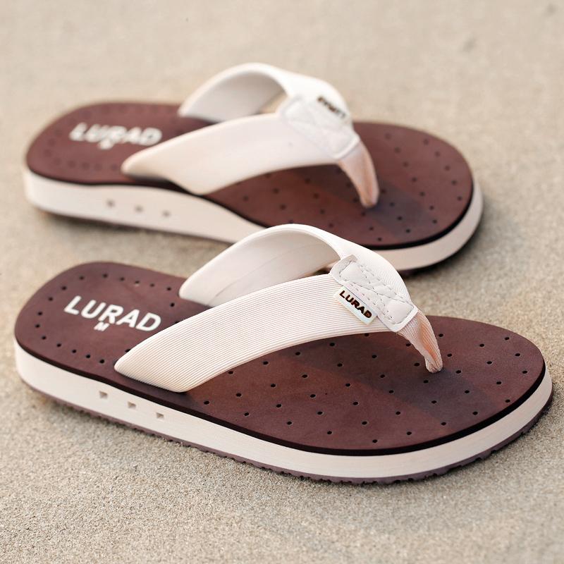 路拉迪霸氣男士人字拖鞋 夏季沙灘防滑涼鞋休閒涼拖歐美潮流夾拖