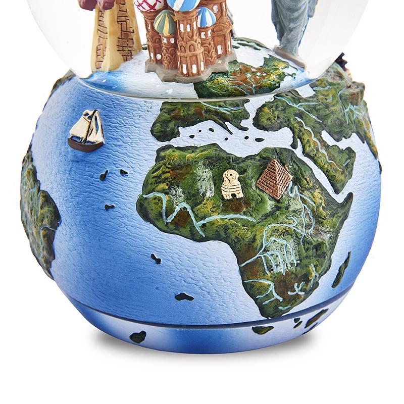 水晶球音乐盒八音盒女生儿童生日七夕情人节礼物环游世界 JARLL