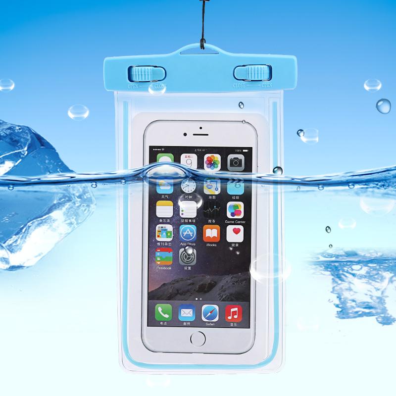 下水拍照手機防水袋潛水游泳防水套觸屏掛脖防水包水上樂園海邊