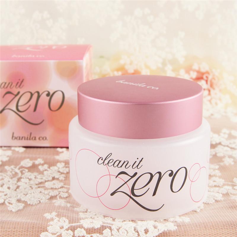 小超banilaco zero芭妮蘭粉色款卸妝膏100ml卸妝霜溫和致柔正品