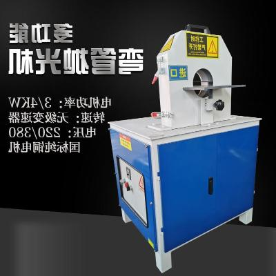 Automatic pipe polishing machine stainless steel pipe pipe the cylindrical pipe a small rust drawing machine polishing machine grinding