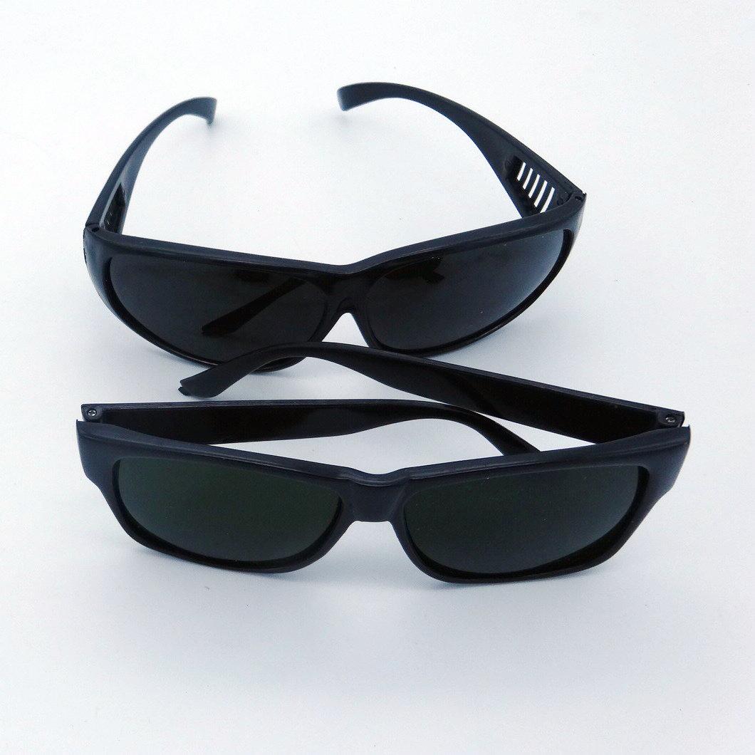 黑色 电焊眼镜 护目镜 焊工用防护眼镜 防紫外线墨镜 防强光