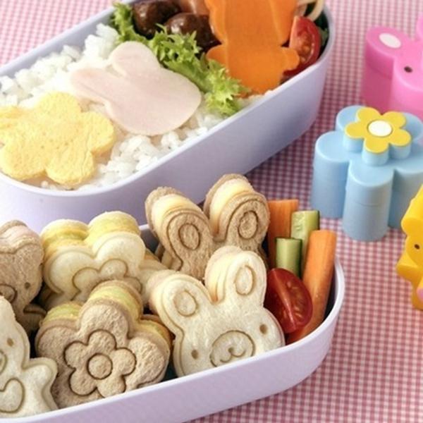 小動物迷你三明治模具 兒童餅乾壓花器吐司模便當造型DIY模具套裝
