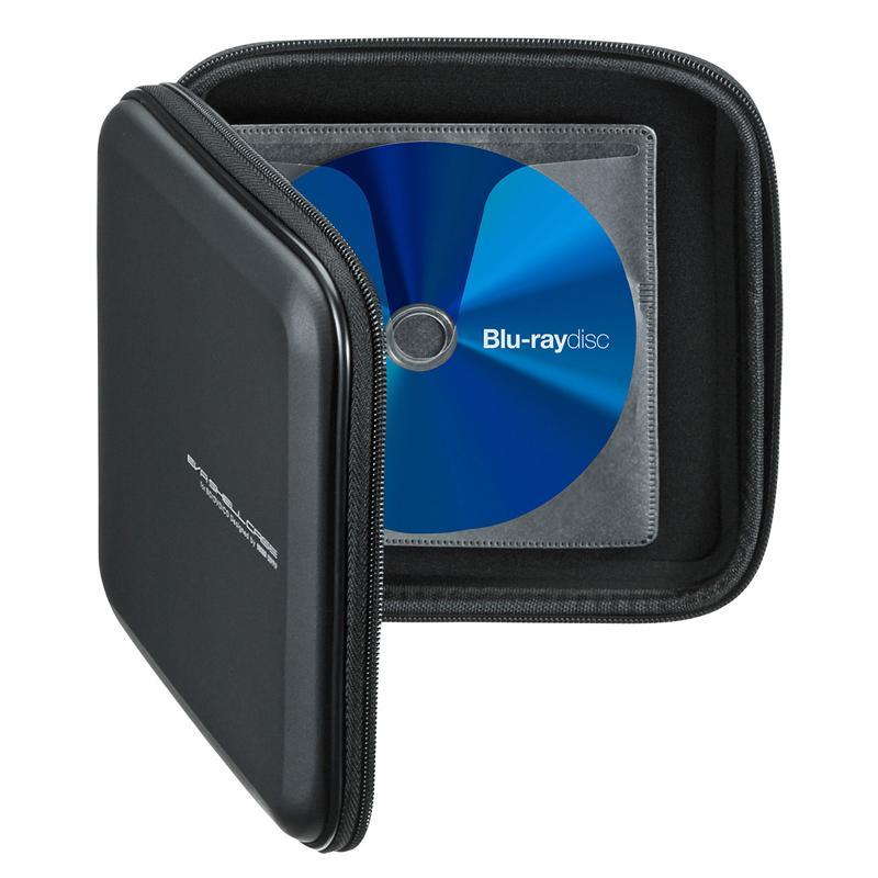 日本SANWA光碟包大容量CD盒藍光收納包家用辦公遊戲軟體蝶包兒童