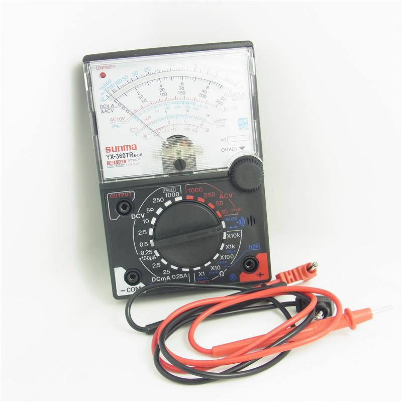可調指標表 帶二極檔 指標測電錶機械錶 維修需備 萬能表