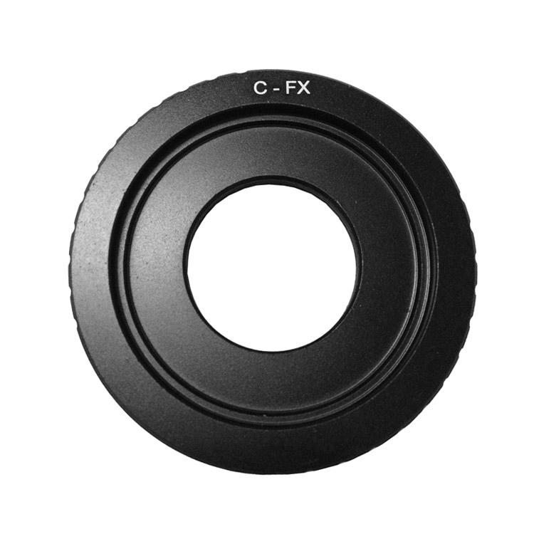 Cuely C-FX 轉接環 適用C口電影鏡頭轉FX PRO 1/X-E1富士微單接環