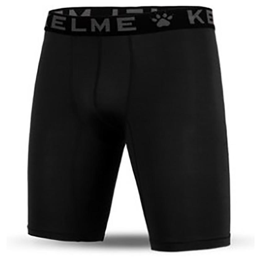 KELME卡爾美男士運動跑步緊身彈力打底短褲足球透氣排汗剷球內褲