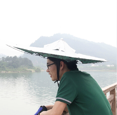 85b6e628708af Buy Ac adapter outdoors fishing umbrella hat fishing umbrella uv sun shade  umbrella folding summer fishing fishing umbrella in Cheap Price on  m.alibaba.com
