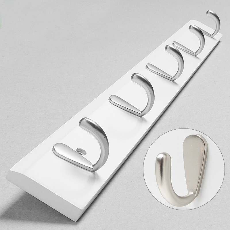 After The Door Hooks European Creative Bamboo Wood Wall Hook Coat For Hanging Clothes Rack On Bathroom Kitchen In