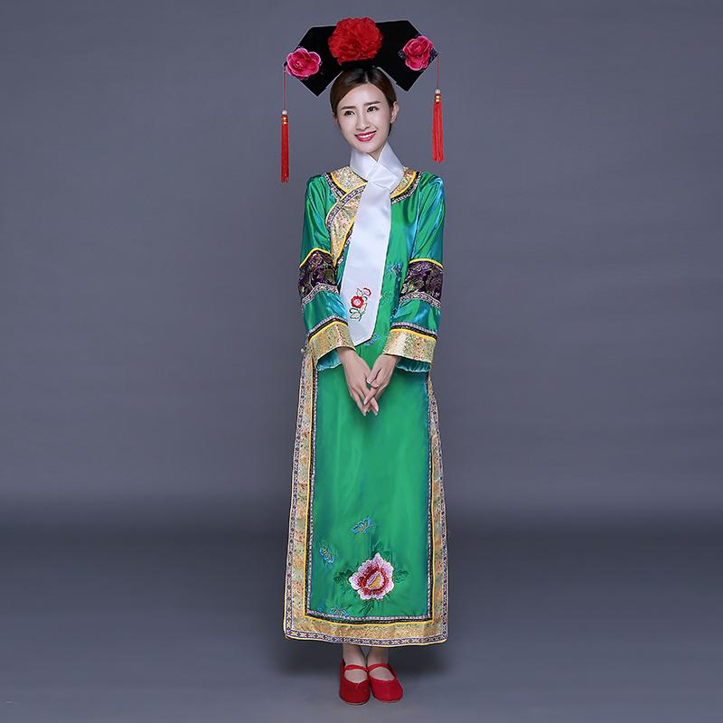 615e8c6e5 Buy Ancient fair princess qing dynasty princess costume princess costume  dress costumes female palace princess princess expensive clothing manchu  flag ...