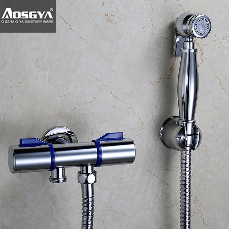 Buy Australia Suoge Ya All Copper Bidet Spray Gun Nozzle Flush Toilet Suite Toilet Toilet Is Clean Body Companion Gun In Cheap Price On Alibaba Com