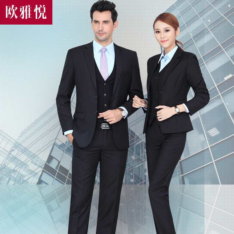 Buy Autumn And Winter Long Sleeve Dress Suits Interview Suits Career