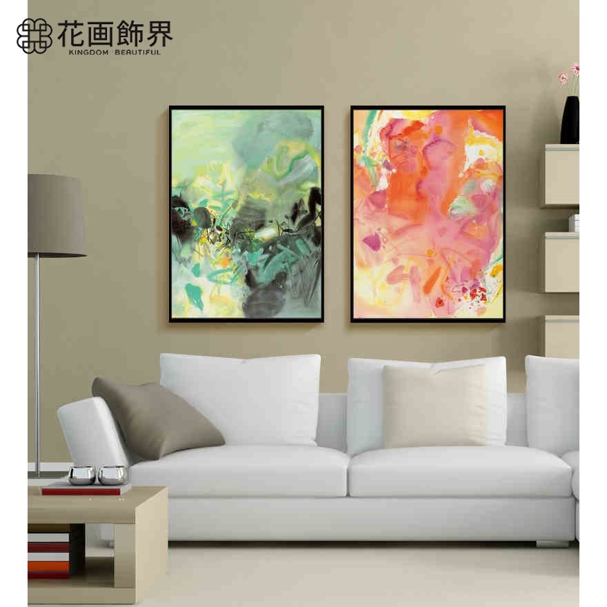 Buy Biconnectivity abstract decorative painting the living room ...