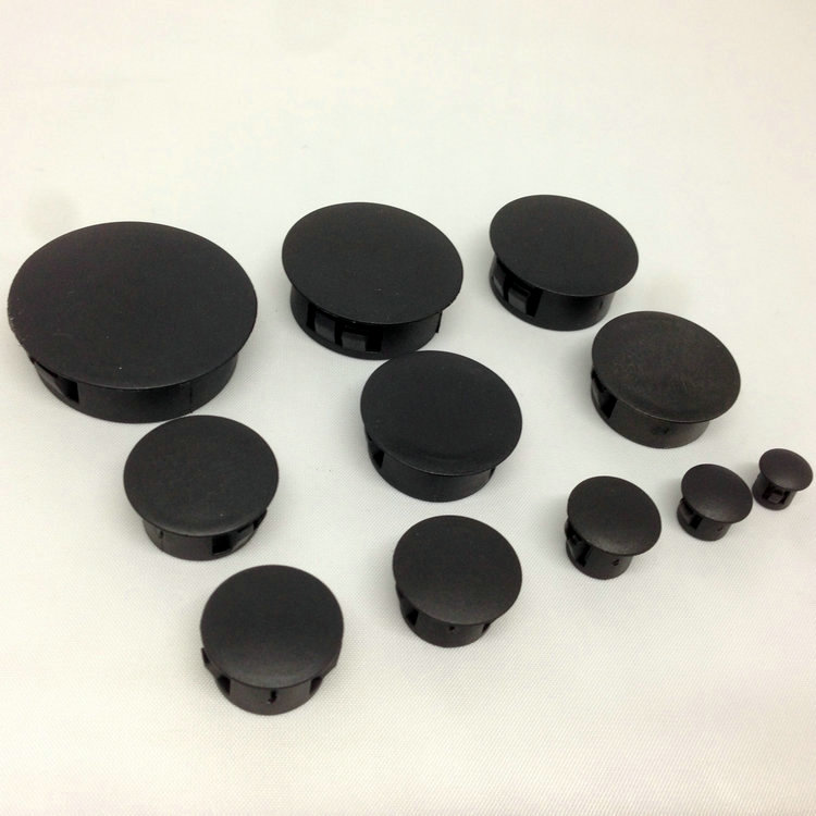 Buy Black plastic manhole cover lid hole plugs plastic plugs