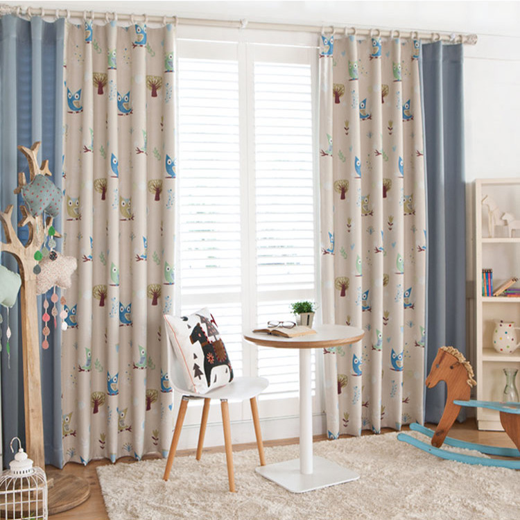 Buy Boys And Girls Cartoon Children 39 S Room Full Blackout Curtains Living Room Curtains Finished Bedroom Floating Korean Stitching Curtains Custom In Cheap Price On M Alibaba Com
