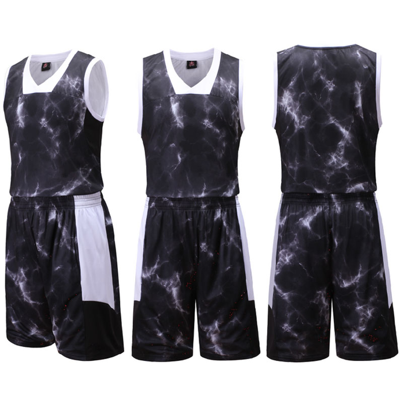 Buy Burst Basketball Clothes Suit Fashion Casual Hip Hop Empty Plate Customized Jersey New Jersey Basketball Clothing Basketball Training Suit In Cheap Price On M Alibaba Com