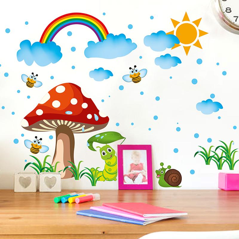 Cartoon Children 39 S Room Wall Stickers Baby