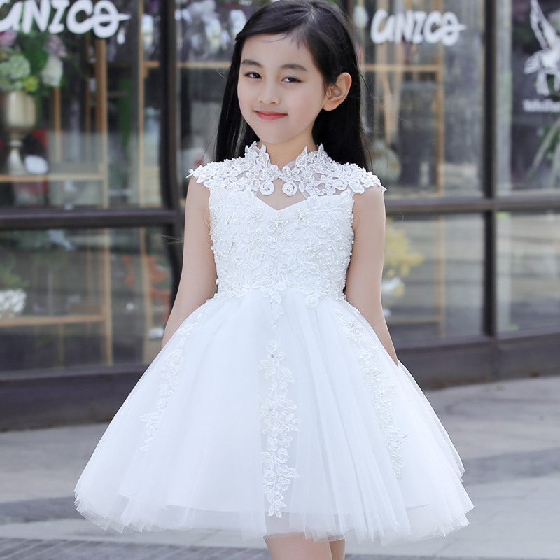 Buy Children Dress Girls Princess Dress Tutu Skirt Flower Girl Dress