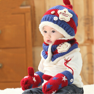 Buy Children hat baby cap infant plush winter wool hat boys and girls baby  hat baby hat scarf sets caps in Cheap Price on m.alibaba.com 31886300bab
