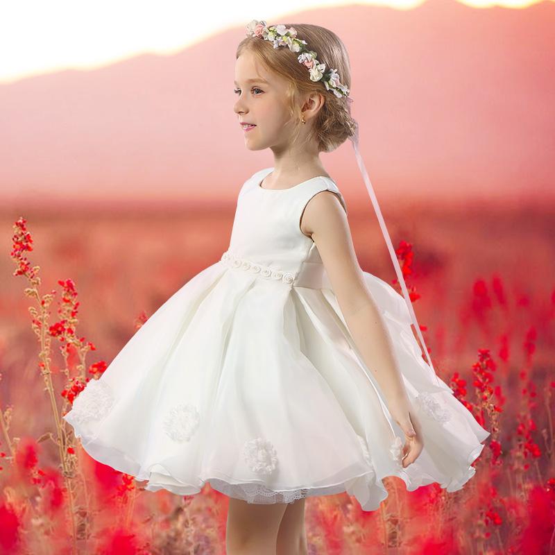Buy four tiger kids children wedding dress flower girl dress tutu recommended for you children wedding dress flower girls mightylinksfo