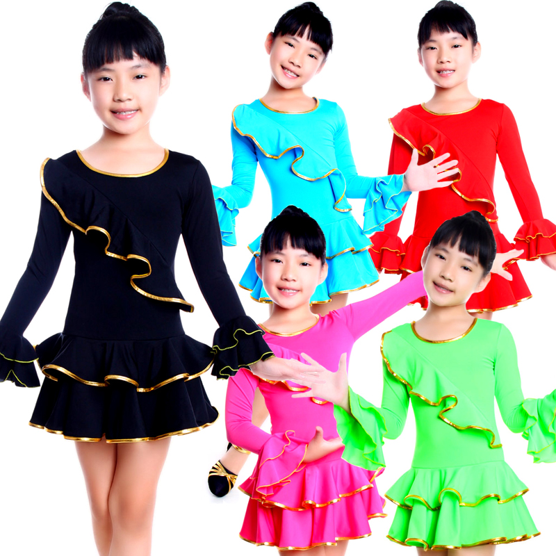 f47bd2bc55d8 Buy Children dance clothes girls act out clothes new clothes and ...