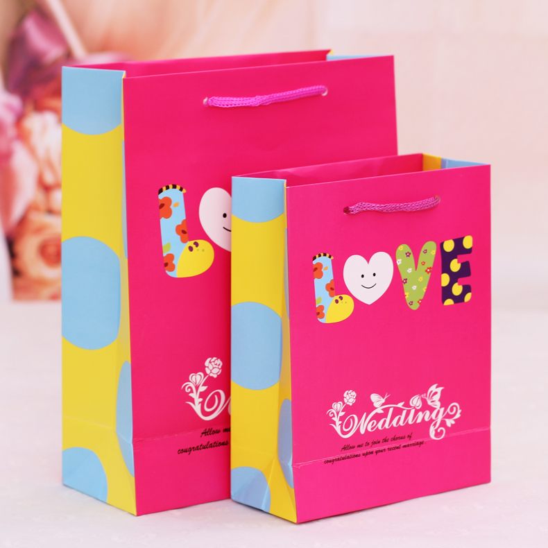 Colorful New Creative Hand Bag Candy Bags Box