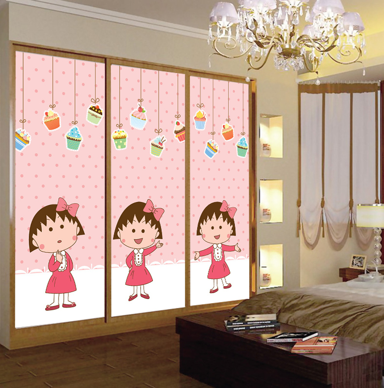 Continental Colored Stained Glass Art Retro Custom Closet Doors Sliding Door Window Stickers Maruko In On M Alibaba Com