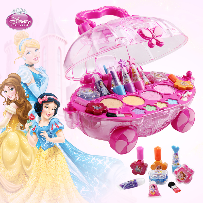 Cosmetics Disney Girls Play House Childrens Educational Toys 4 Years Old 5 6 Birthday Gift