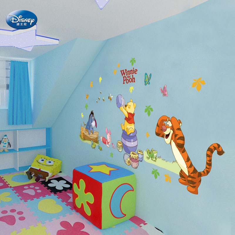 Buy Disney nursery decor removable wall stickers cartoon children& ...