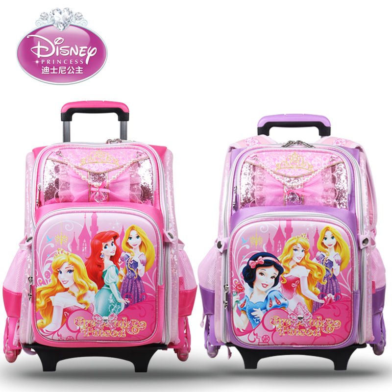 Disney Trolley Bags Three Students Spinal Care Burdens Shoulder Bag Children 39 S Detachable Backpack Bp6317 In Price On M Alibaba
