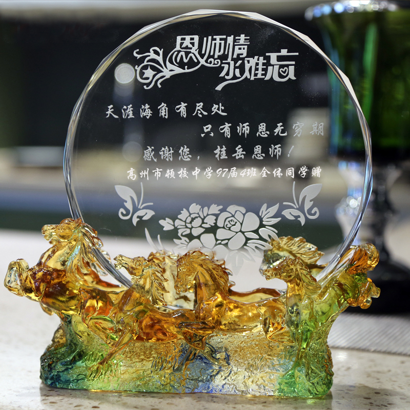 buy teacher 39 s day special gift ideas crystal apple ornaments to