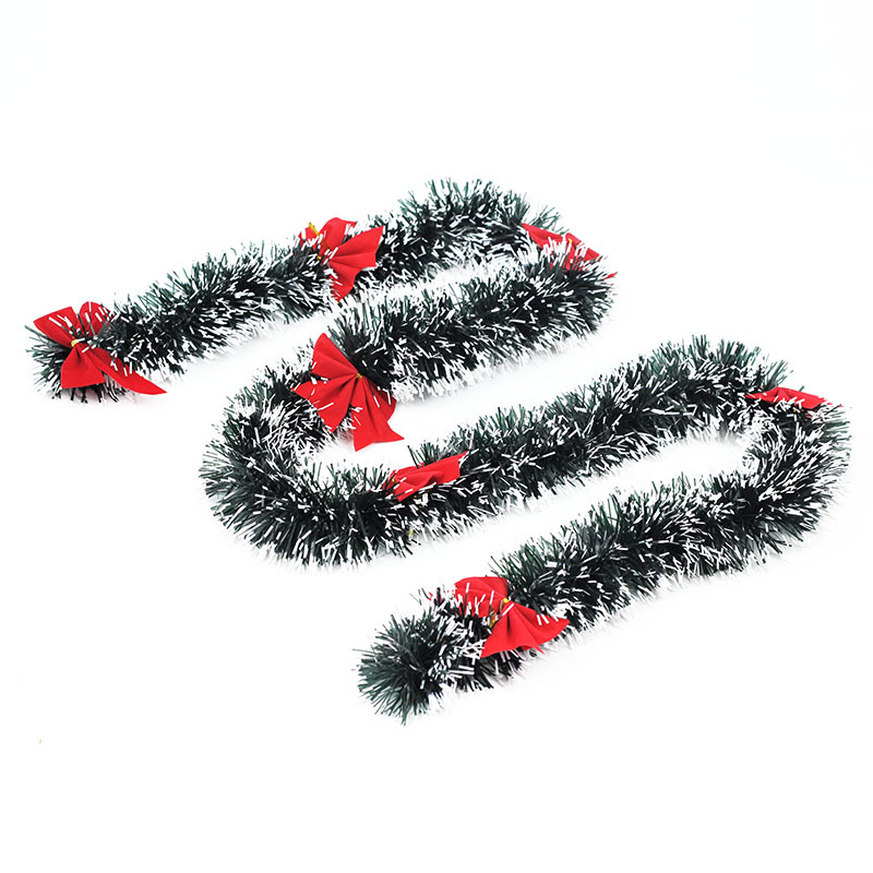 buy encryption bold snowflake christmas 2 m christmas decoration color bar tops striped ribbon garland christmas decorations in cheap price on malibabacom - Snowflake Christmas Decorations