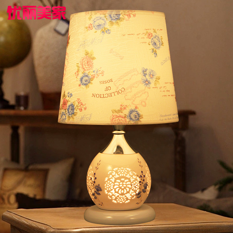 Buy Excellent Limei Ceramic Table Lamp Bedroom Bedside Lamps