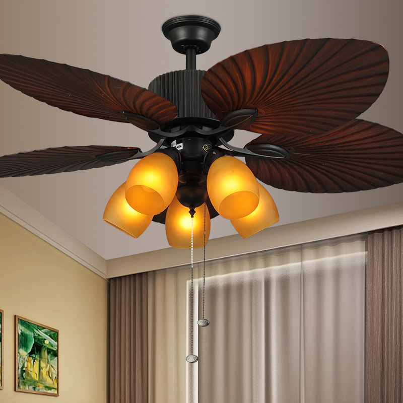 Buy F697 Three Rounds Ceiling Fan Light Southeast Asian
