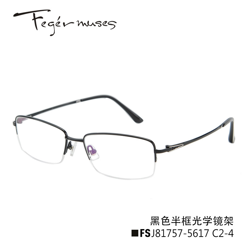 Buy Figueroa mousse 81757 titanium glasses frame glasses half frame ...