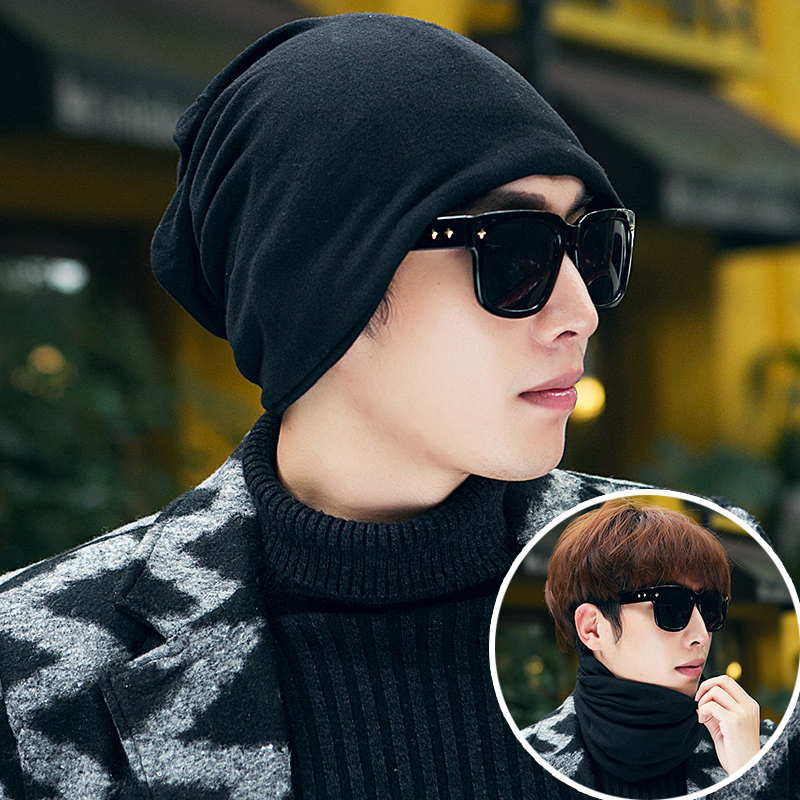 Free shipping men s hat male spring and autumn and winter fashion knitted  winter hat korean tidal summer and autumn hedging hat turban hat bumao 6844202ddec5